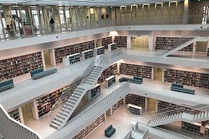 Stadtbibliothek - Stuttgart City Library